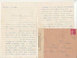 LAC Chantier De Jeunesse Groupement 18  Censurée - Cad Le Vigan Gard 1941 - Guerra Del 1939-45