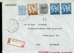 Doc. De KESSEL-LO - 2 A 2 - (3200 ) Du 10/07/70 En Rec.  (E) - Postmark Collection