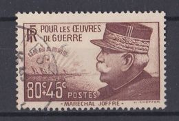 France Y&T  N °  454  Valeur  7.00  Euros Oblitéré - Gebraucht