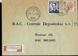 Doc. De KLUISBERGEN - 2 B 2 - (9690) Du 18/12/74 En Rec.  (E) - Postmark Collection