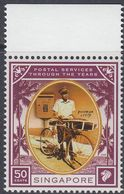 Singapore 2001 - Postal Services Through The Years: Postman - Mi 1582 ** MNH [1117] - Wielrennen