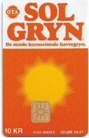Denmark - Danmønt - Sol Gryn - DB029 - 10Kr. Exp. 09.1997, 1.498ex, Used - Danemark