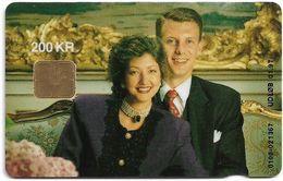 Denmark - Danmønt - Royal Wedding - DD078 - 200Kr. Exp. 01.1997, 5.000ex, Used - Danemark