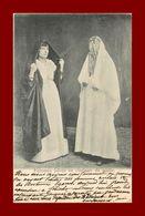 --RELIGION FEMMES JUIVES EN COSTUME DE SORTIE -CACHET HOTEL BELLEVUE A JERICHO (scan Recto Verso) - Türkei
