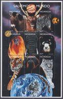 1999Nicaragua3899-3907KLFauna - Timbres