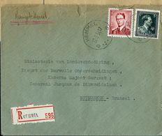 Doc. De KEMMEL - B B - Du 22/03/54 En Rec.  (E) - Postmark Collection