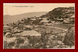 --LIBAN VUE DE SOUK EL KARB (scan Recto Verso) - Lebanon
