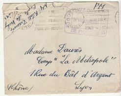 EAC OMEC Vichy 1940  Armée De L'Air/Ecole De Pilotage De Vichy - Marcophilie (Lettres)