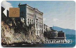 Monaco - MF16 - Musée Oceanographique - Gem1A Symm. Black, 08.1991, 50Units, 20.000ex, Used - Monaco