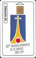 Monaco - MF45 - XIIe Journées Mondiales De La Jeunesse - Gem1A Symm. Black, 06.1997, 50Units, 52.000ex, Used - Monaco