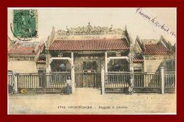 --COCHINCHINE  PAGODE A CHOLON (scan Recto Verso) - Vietnam