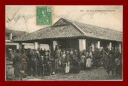 --UN COIN DE MARCHE ANNAMITE (scan Recto Verso) - Vietnam
