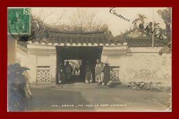 --Annam Carte Photo Fai Foo -le Pont Japonais (scan Recto Verso) - Vietnam