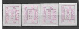 België ATM N° 96 - Postage Labels