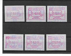 België ATM N° 78-79  Xx Postfris  Cote 50 Euro - Postage Labels