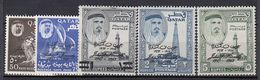 QATAR.  1963. Nr. 43/47. John F. Kennedy. MH. Value 58 £ - Qatar