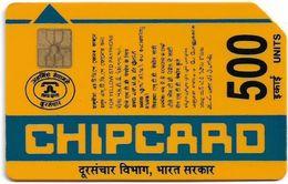 India - Aplab - (Yellow) Godrey, Chip APL 01, Cn.038564, 500U, Used - Inde