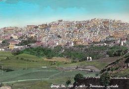 GANGI-PALERMO-PANORAMA CENTRALE-CARTOLINA VERA FOTOGRAFIA- VIAGGIATA IL 7-7-1965 - Palermo
