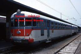 Reproduction D'une Photographie D'un Train OM En Gare FFS à Venise En Italie En 1976 - Reproducciones