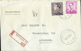 Doc. De KAPELLEN - A 2 A - Du 03/09/69 En Rec.  (E) - Postmark Collection