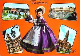 Carte Postale - Poupée Doll  Toulouse     Pèle Mèle - Poupées
