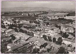 Saint-Marcel-lès-Valence (26) - Vue Générale Aérienne (Circulé En 1956) - Frankreich