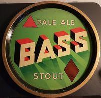 Plateau Publicitaire Ancien - Bière - Pale Ale BASS Stout - Rob Otten - 2 Scans - Other Collections