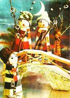 Carte Postale - Poupée Doll  Pêche à La Ligne  Carte Bulgare - Poupées