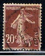 4F 012 // YVERT 139 (PERFORÉ: C) // 1907-24 - Francia