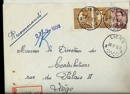 Doc. De LIERS - A A - Du 26/03/58 En Rec.  (E) - Postmark Collection