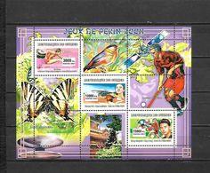 Olympische Spelen  2008 , Guinea - Blok Postfris - Zomer 2008: Peking