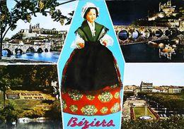 Carte Postale - Poupée Doll  Beziers Pèle Mèle - Poupées
