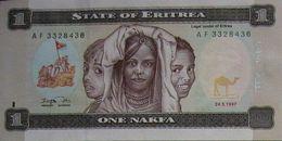 FD0513 - Eritrea 1 Nafka Banknote 1997 P.1 - Eritrea