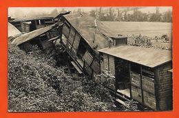 81  St Amans-Soult 1913 Carte-photo Catastrophe Ferroviaire Déraillement Train Cliché N° 2 Sans éditeur Dos Scanné - France