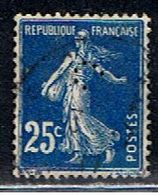 4F 019 // YVERT 140 (PERFORÉ: C)  // 1907-24 - Francia