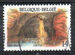 BELGIQUE. N°2410 De 1991  Oblitéré. Grotte. - Geologie