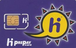 Netherlands, Hi GSM SIM Kaart-Hi Prepay, GSM / SIM Card With Chip, 2 Scans. - Pays-Bas