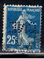 4F 020 // YVERT 140 (PERFORÉ: CNE)  // 1907-24 - Francia