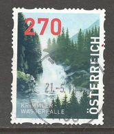 Oostenrijk 2018, Dispenser-Marken Mi 16, Hoge Waarde, Gestempeld - 2011-... Used