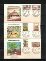 Upper Volta 1960 Animals FDC - Gibier