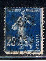 4F 023 // YVERT 140 (PERFORÉ: SG)  // 1907-24 - Francia