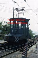 Reproduction D'une Photographie D'un Tramway Funiculaire Opicina à Trieste En Italie En 1976 - Reproducciones