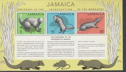 Jamaica, Scott #368a, Mint Hinged, Mongoose, Issued 1973 - Jamaica (1962-...)
