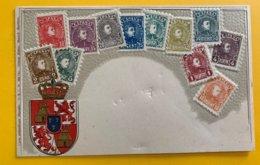 12607 - Représentation Des Timbres D'Espagne - Timbres (représentations)