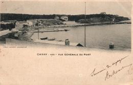 Carry-le-Rouet - Vue Générale Du Port - Photo Lacour - Carte Dos Simple 1901 - Carry-le-Rouet