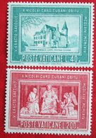 Cardinale Cusano 1964 Mi 462-463 Yv 413-414 POSTFRIS / MNH / ** VATICANO VATICAN VATICAAN - Neufs