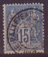 Dun Le Palleteau Creuse Oblitération Type 84 - 1877-1920: Semi-Moderne