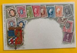 12610 - Représentation Des Timbres De Suède - Timbres (représentations)