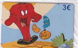GREECE - Looney Tunes/Goosamer, Amimex Prepaid Card 3 Euro, Tirage 2000, Mint - Greece