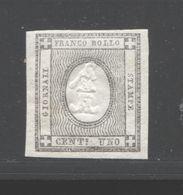 REGNO 1861 FRANCOBOLLI PER STAMPATI  1 C.** MNH - Non Classés